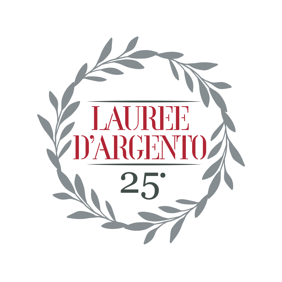 Logo lauree argento